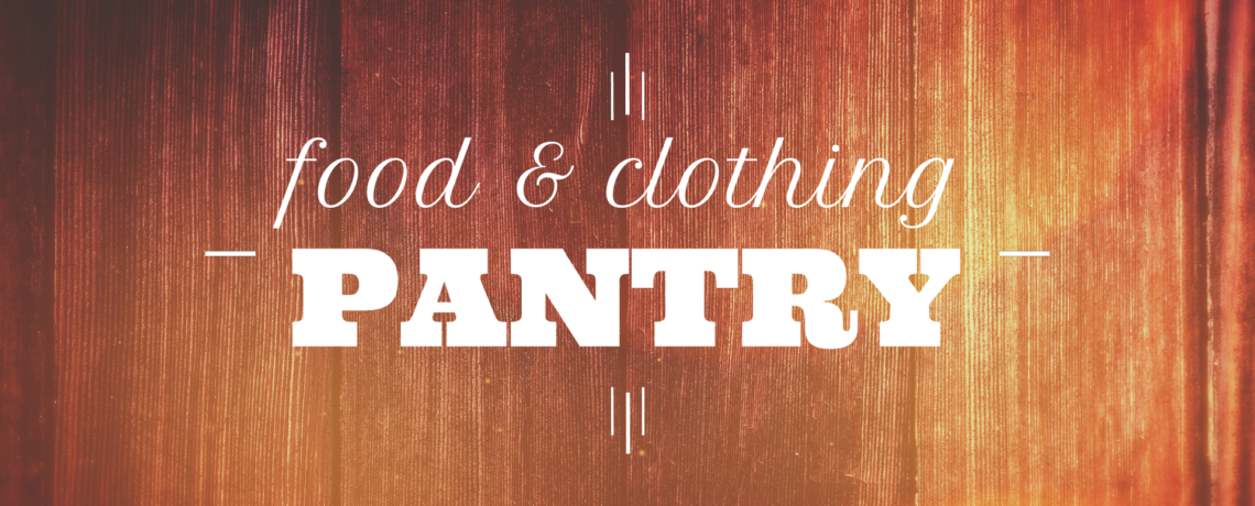 Food & Clothing Pantry
